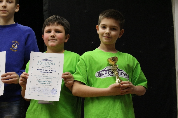 "The All-Ukrainian Competition ""Robotraffic-2020"""