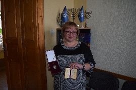 "Our congratulations to Lyudvyha Tsurkan on receiving a honorary title ""Honored Worker of Education of Ukraine"""