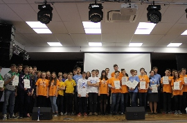 ORT EDUCATIONAL COMPLEX №141 at KYIV HOUSED an INTERNATIONAL HACKATHON