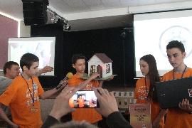 """Хакатон в НВК №141 """"ОРТ"""" в м.Києві"""