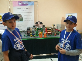 """ORT pupils won """"BestRoboFest 2017"""", and were invited to attend Dnipro City Council commission"""