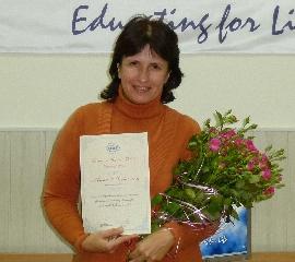 Вручення премії Beatrice Wand-Polak